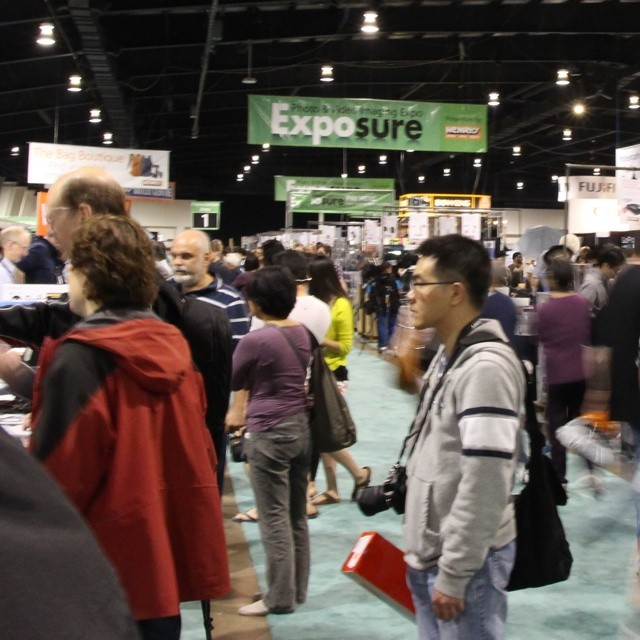 Exposure Show 2014 International Centre Canada (x-post Instagram)