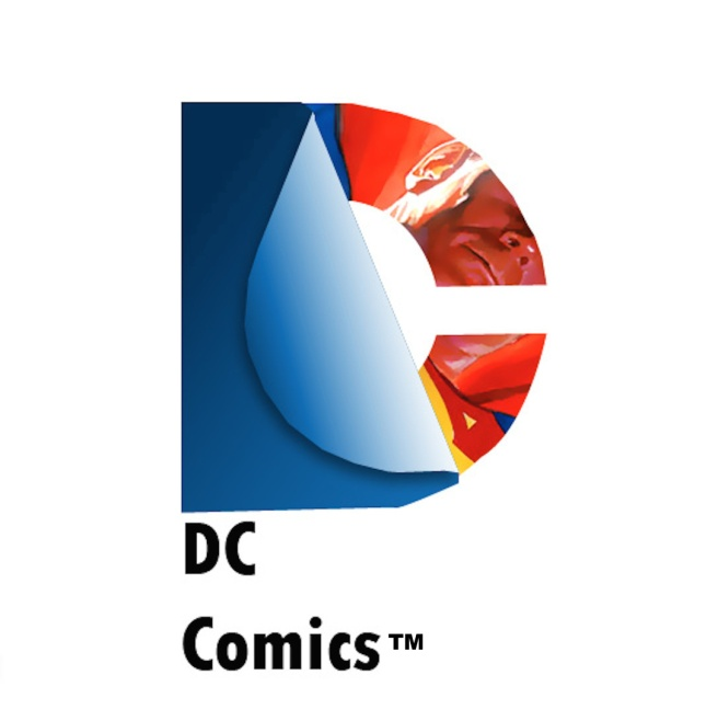 DC Comics Logo Made in Adobe Illustrator for my DMA101DA Class