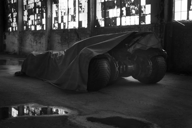 The new Batmobile in the Batman v Superman movie (x-post Reddit)