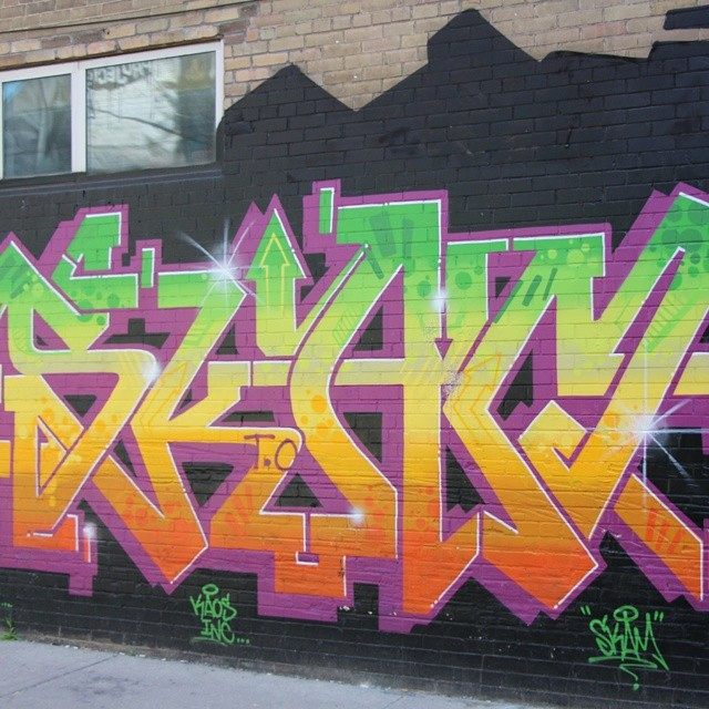 Pic of the day, Down Town Toronto Graffiti 11 (x-post Instagram)