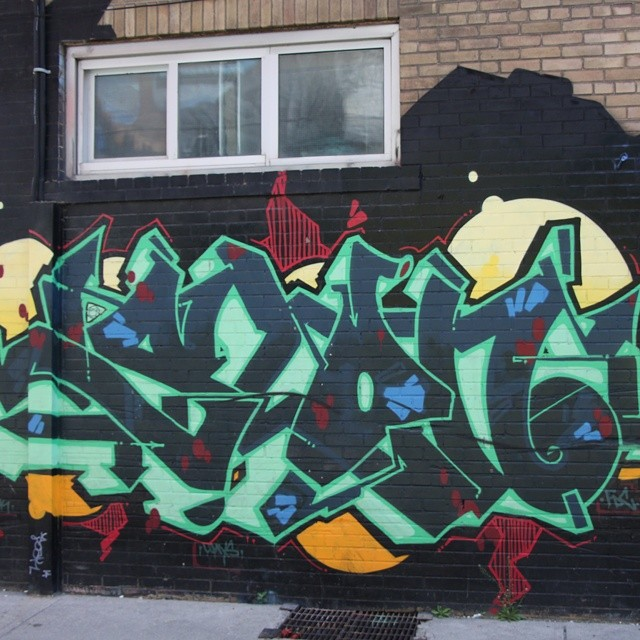 Pic of the day, Down Town Toronto Graffiti 12 (x-post Instagram)