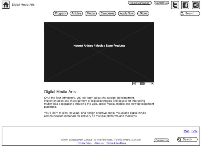 DMA Home Page